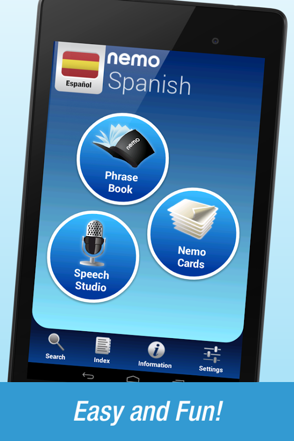 FREE Spanish by Nemo- screenshot