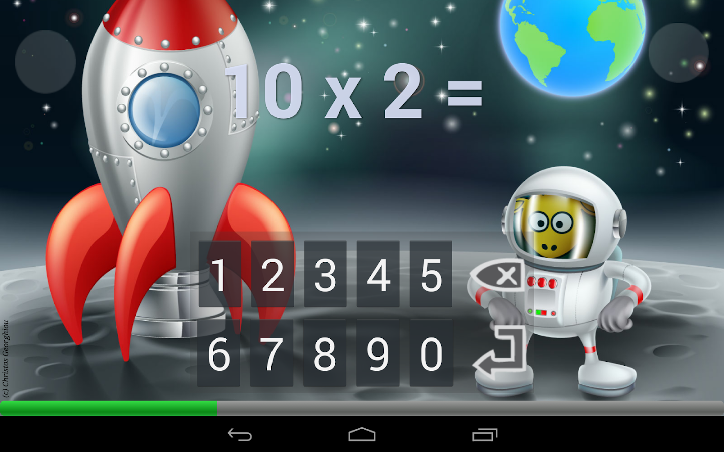 Times Tables Game (free) - screenshot