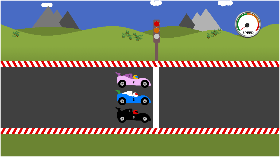 Free Race Car Math Games