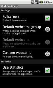 World Webcams- screenshot thumbnail
