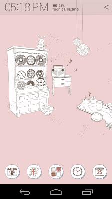Melody House Atom theme - screenshot