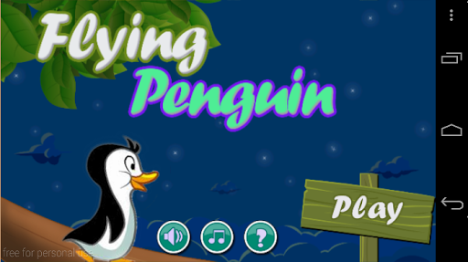 Flying Penguin Game
