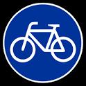 Carril bici Barcelona icon