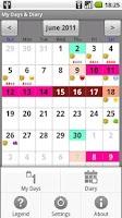 Screenshot of My Days & Diary