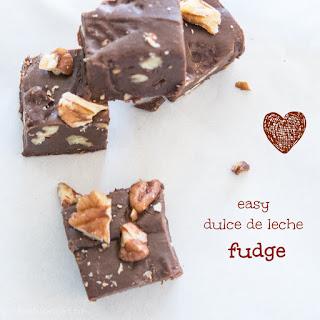 Easy Caramel Mocha Fudge