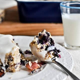 Blueberry Bacon Breakfast Cake.