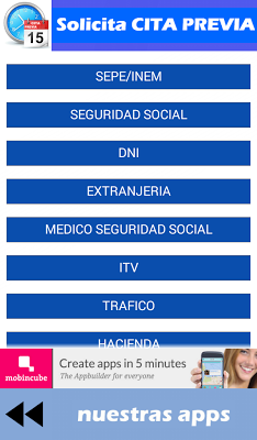 Solicita CITA PREVIA - screenshot
