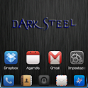 iPhone DarkSteel Blue Go Theme logo