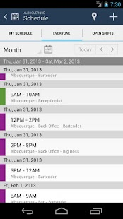 NimbleSchedule- screenshot thumbnail