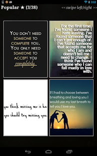 "Love Quotes"" Pro- screenshot thumbnail"