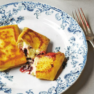 Goat Cheese Blintzes