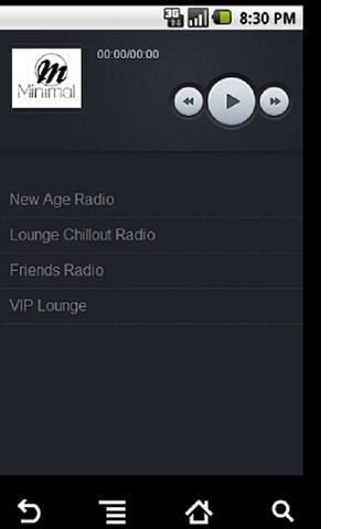 Minimal Relaxing Radios - screenshot