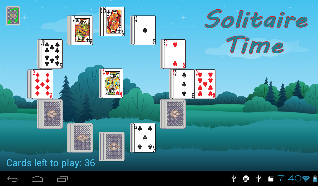 Solitaire Time FREE- screenshot
