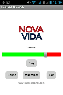 Radio Web Nova Vida- screenshot thumbnail
