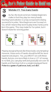 Ace's Poker Guide to Holdem HD- screenshot thumbnail