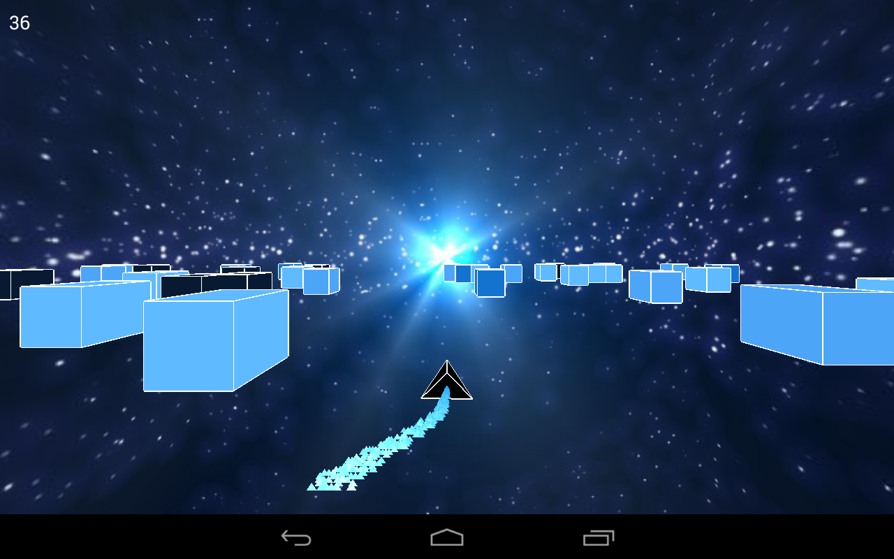 Cube Racer: A ship runner race- screenshot
