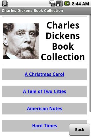 Charles Dickens Collection - screenshot