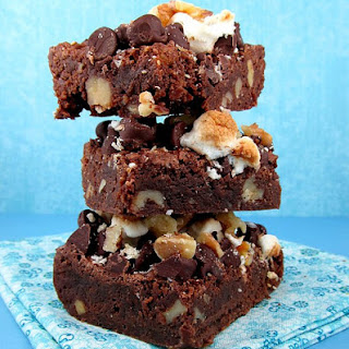 Rocky Road Brownies.