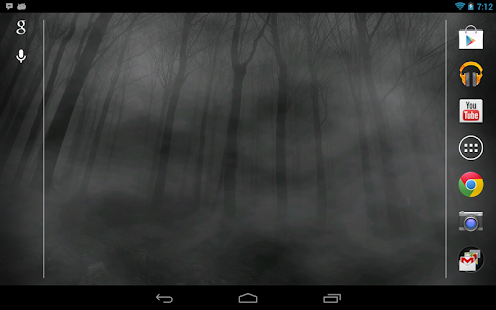 Slender Man! Live Wallpaper - screenshot thumbnail
