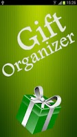 Screenshot of Gift Organizer