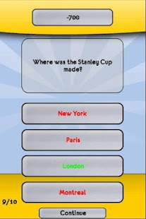 NHL Hockey Trivia - screenshot thumbnail