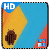 Kitkat 4.4 Next Launcher Theme