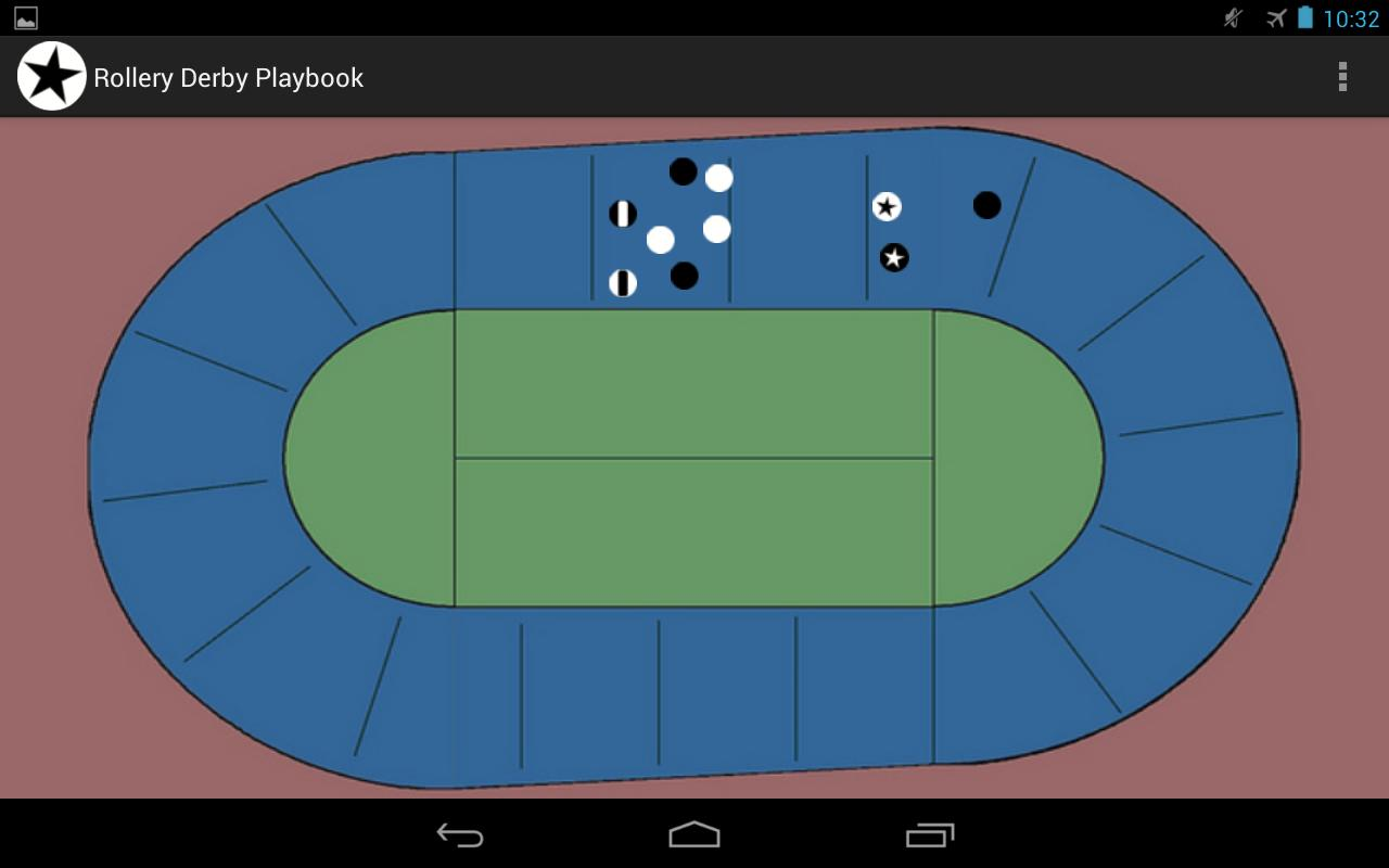 Roller Derby Playbook- screenshot