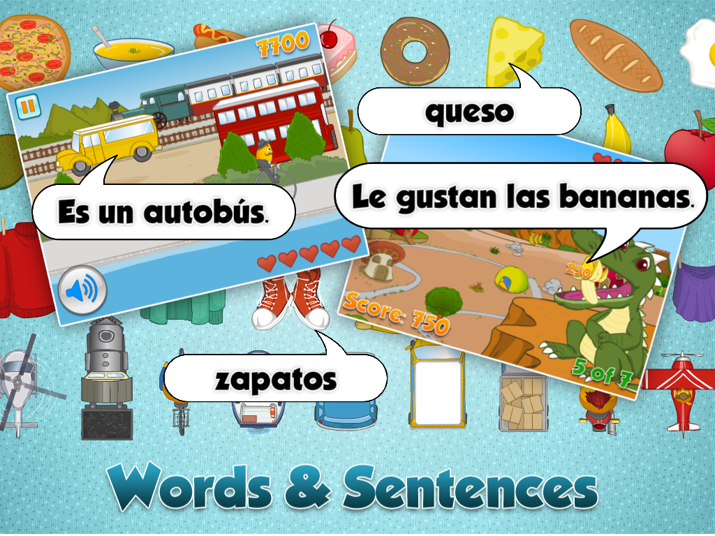 ‎Spanish School Bus for Kids on the App Store