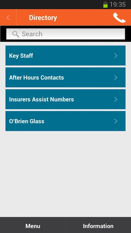 The Gardian Group Brokerapp- screenshot