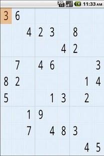 Sudoku- screenshot thumbnail