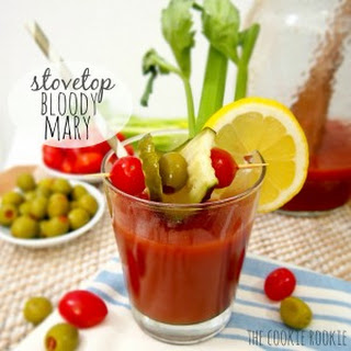 Stovetop Bloody Mary.