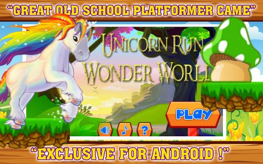 Unicorn Run Wonder World