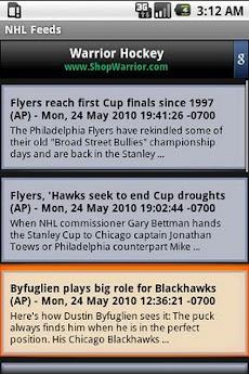 NHL News Feedのおすすめ画像1