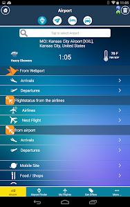 Kansas City Airport +Radar MCI screenshot 16