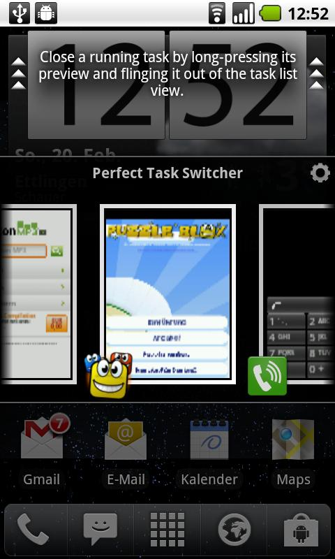 Perfect Task Switcher - screenshot