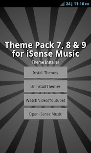 Mega Theme Pack 3 iSense Music - screenshot thumbnail