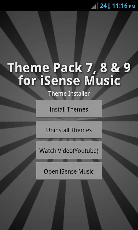 Mega Theme Pack 3 iSense Music - screenshot