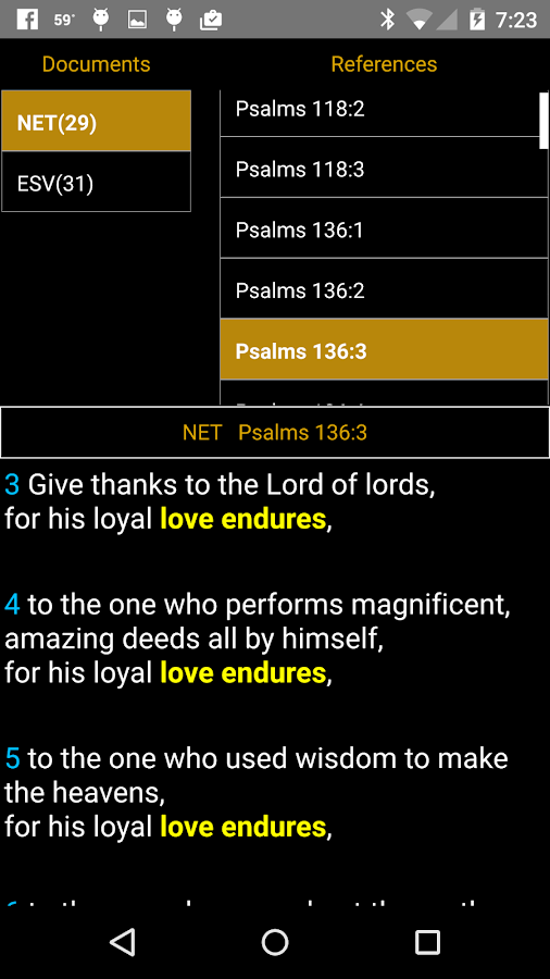 BibleTime Mobile- screenshot