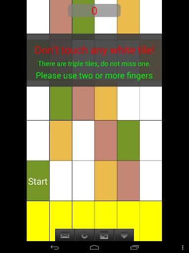 白色的鋼琴磚 - 瓷磚瘋狂 音樂 App-愛順發玩APP