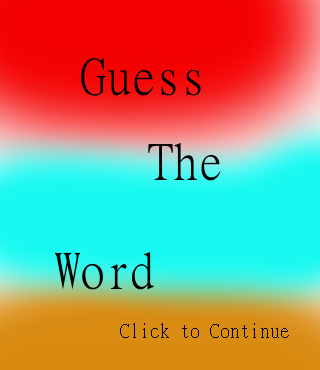 Guess The Word 500
