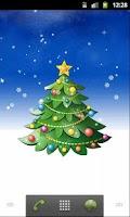 Screenshot of Christmas Tree wallpaper