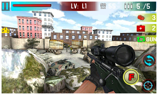 【免費動作App】IS Sniper Hunter 3D-APP點子