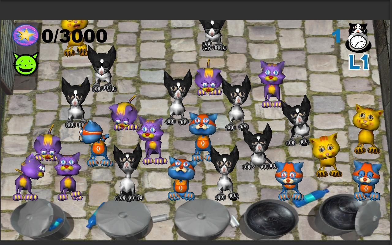 Tap the Cat – Pocket Street - screenshot