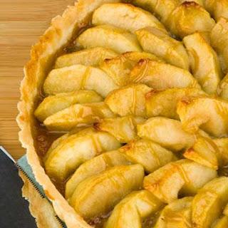 Gluten Free Easy Caramel Apple Tart