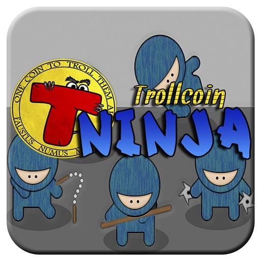 Trollcoin Ninja LOGO-APP點子