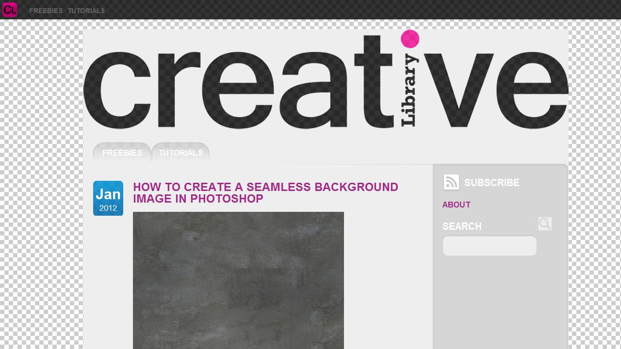 Creative Library - screenshot