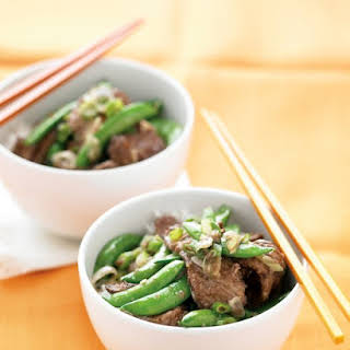 Beef Stir-Fry with Snap Peas.