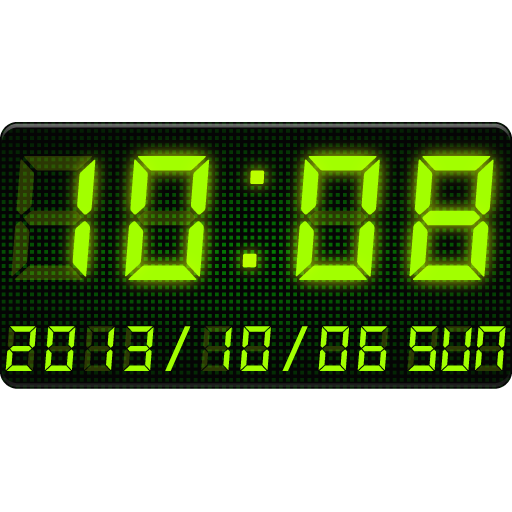 LED Clock Widget -Me Clock Android APK Download Free By Android_media