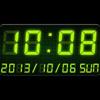 LED clock widget -Me Clock 2.11