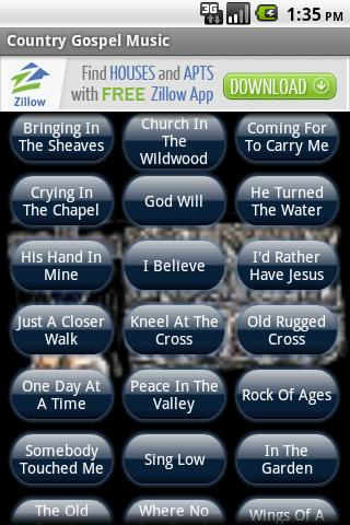 Country Gospel Music - screenshot